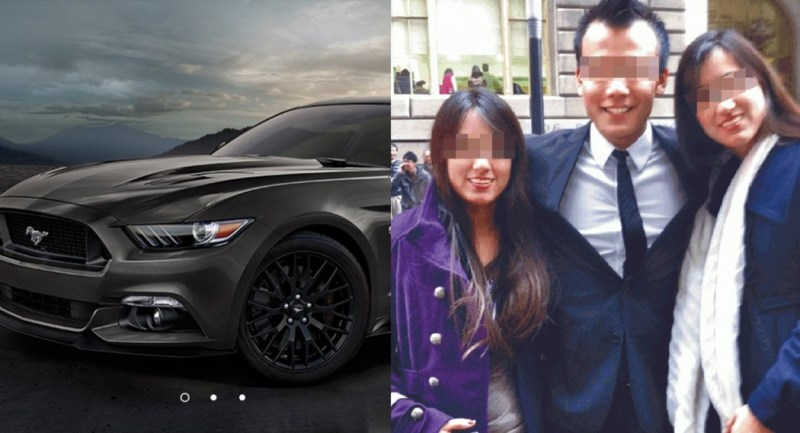 mainland rich guy drives sport car to hk illegally
