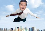 cy leung flying