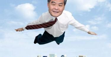 cy leung flying