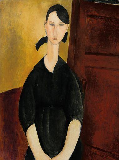 Modigliani-Portrait-de-Paulette-Jourdain