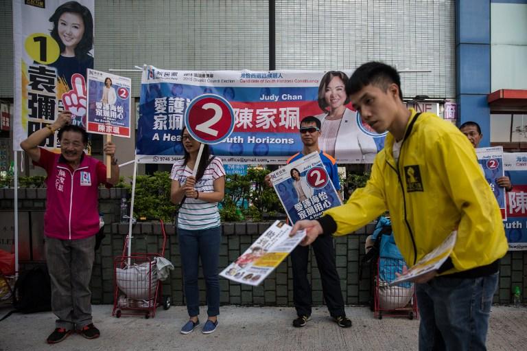 hong kong district election