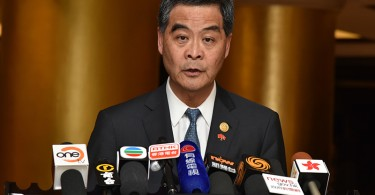 Chief Executive Leung Chun-ying. Photo: Gov HK.