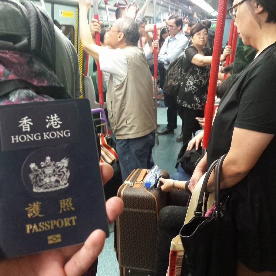 how to go to hong kong from taiwan