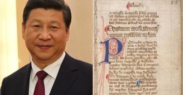 Xi Jinping & Magna carta