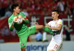 Hong Kong player Yapp Hung-fai against Chinese player Yu Dabao.