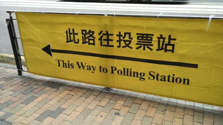 district council election poll