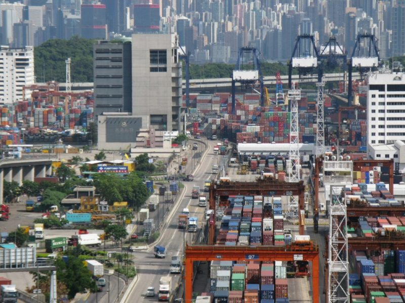 Kwai Tsing Container Port