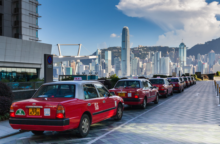 hk taxis