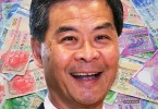 cy leung money bribery corruption