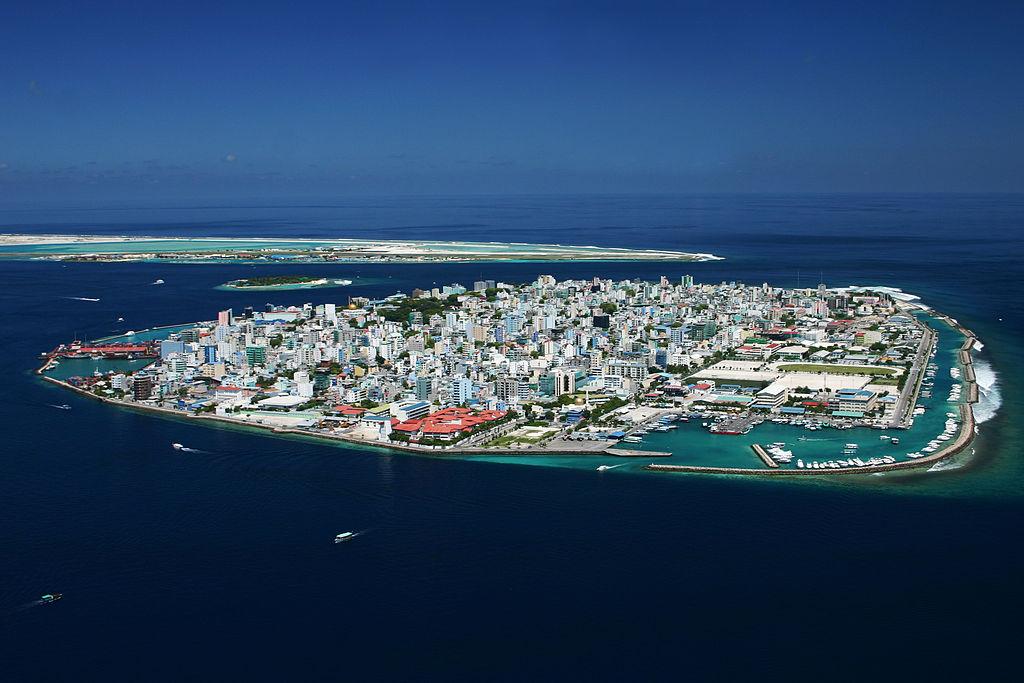 Male, Capital of Maldives.