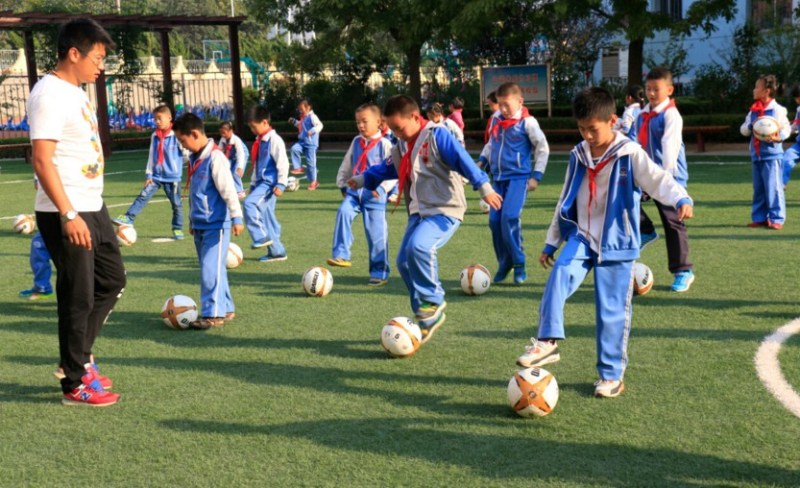 chinese football schools
