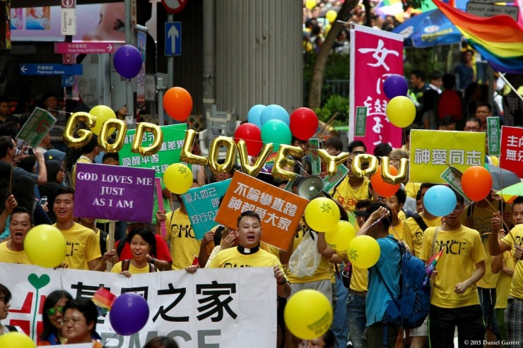 Gay Pride Hong Kong 2015.