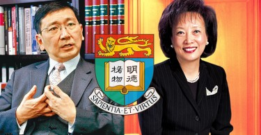 Johannes Chan (left) and Rosanna Wong (right)