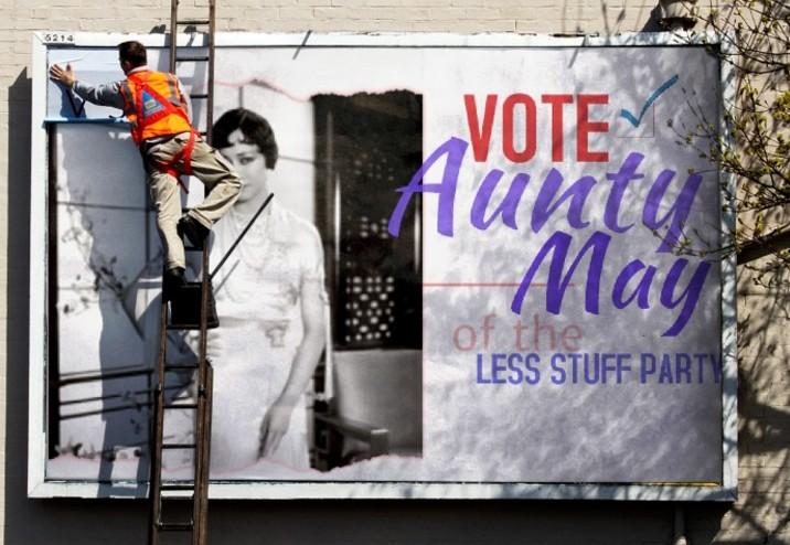 vote aunty may