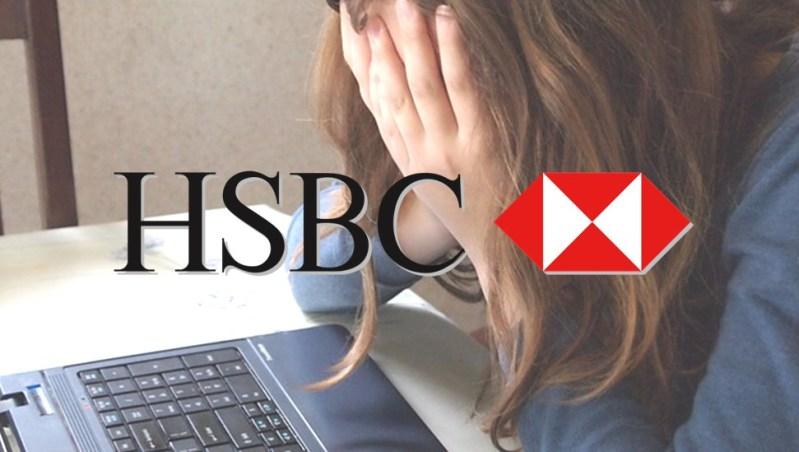 hsbc problems