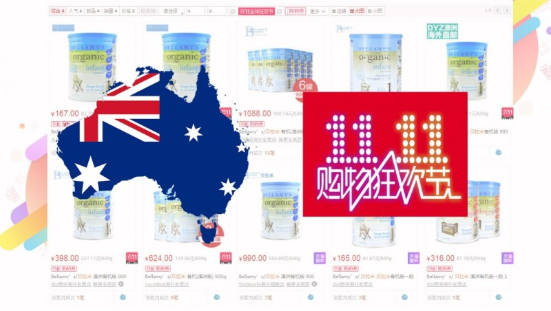 australia bb milk powder drought