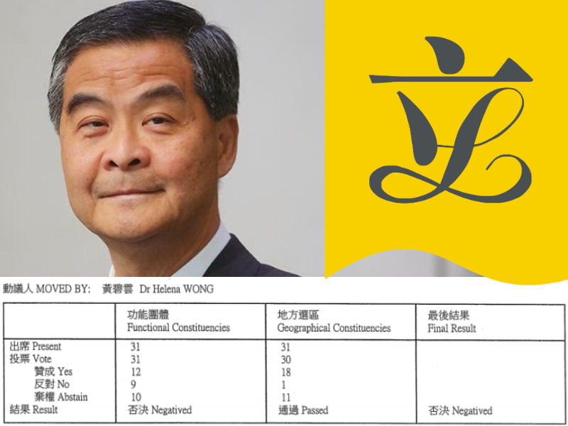 Leung Chun-ying. Photo: HKFP.