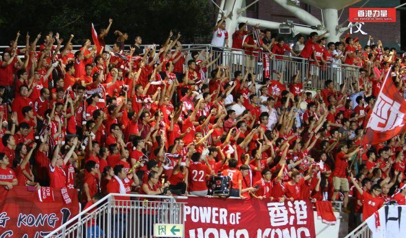 Hong Kong fans. Photo: Facebook/Power of Hong Kong.
