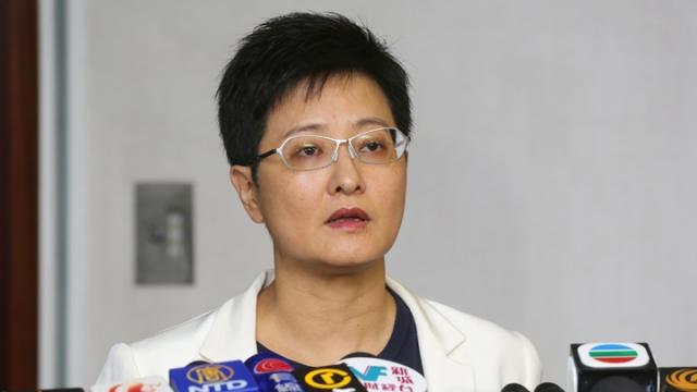 Helena Wong Pik-wan. Photo: Apple Daily.