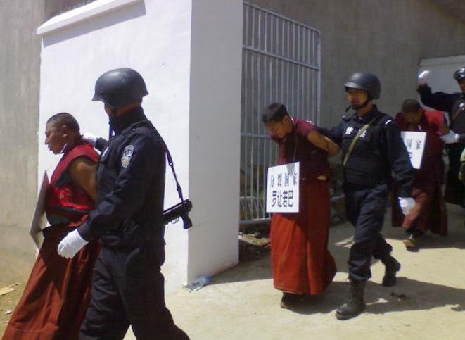 Tibetan monks arrested after March 2008 uprising