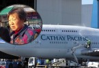 cathay pacific woman