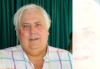 Australian mining tycoon Clive Palmer