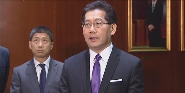 Secretary for Commerce and Economic Development Gregory So Kam-leung.