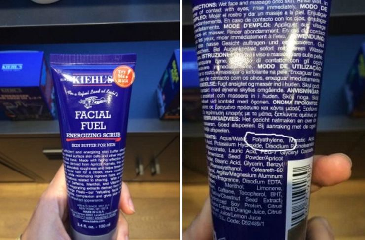 Facial scrube