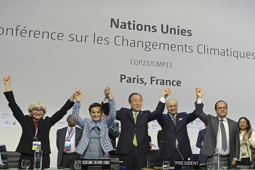 The Paris climate summit reached an agreement.
