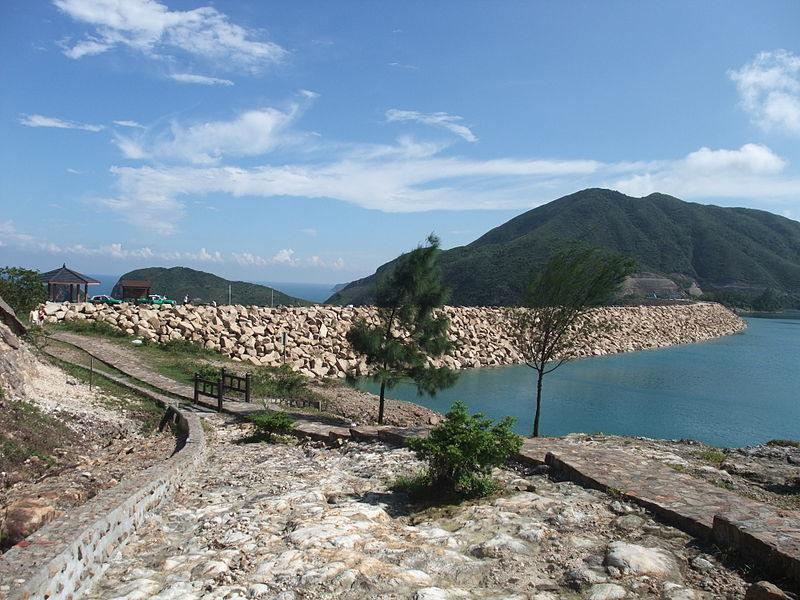 East Dam, High Island Reservoir