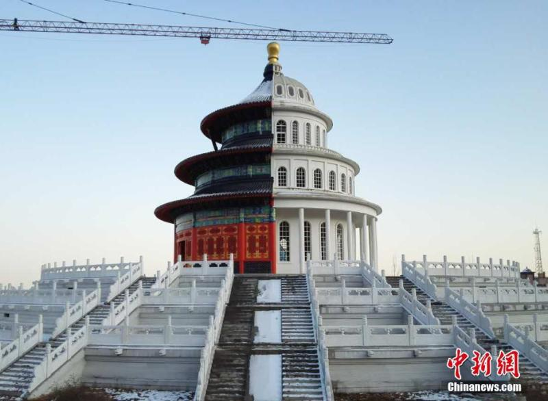 Hybrid building in Shijiazhuang in central China