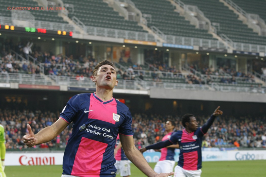 Interview with :   Kitchee football club striker Juan Belencoso, AFC Foreign Player of the Year nominee