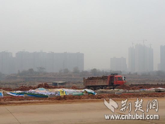 Panlongcheng construction site