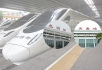 The high speed rail may stop at two more short haul stations in China.