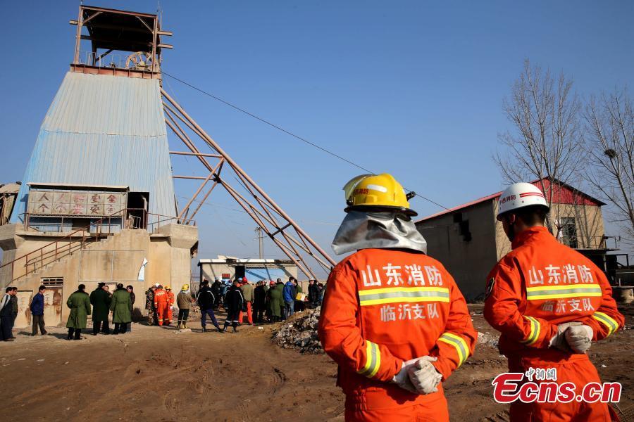 collapsed mine