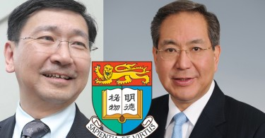 Johannes Chan (left) and Arthur Li (right). Photo: Stand News and Gov HK.
