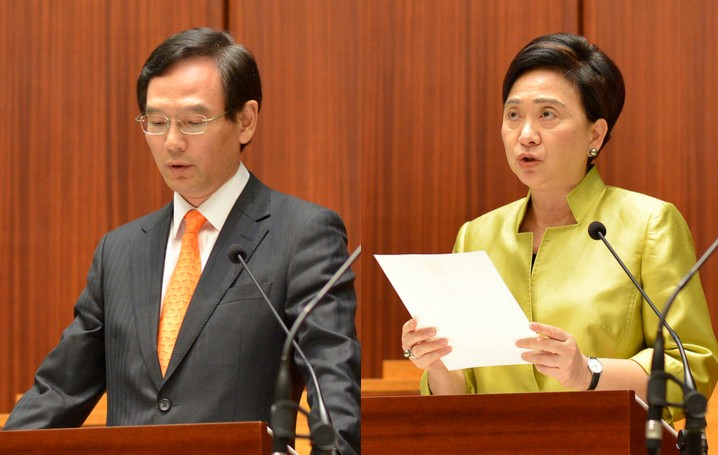 Tony Tse, Emily Lau.