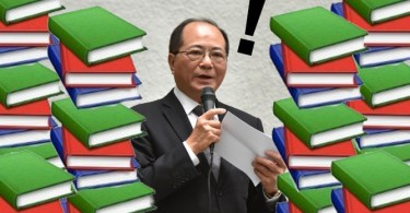 The Secretary for Education, Eddie Ng Hak-kim