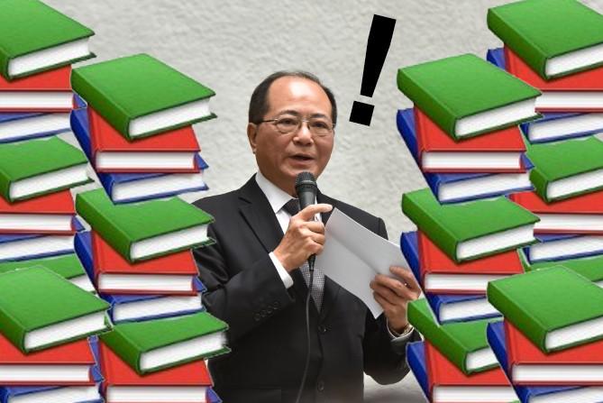 The Secretary for Education, Eddie Ng Hak-kim