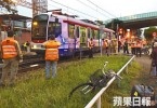 light rail accident