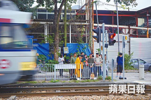 light rail accident