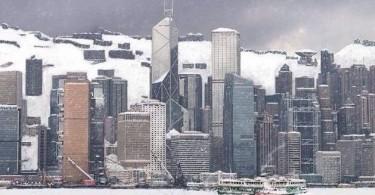 snow in hong kong