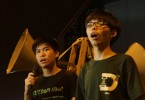 lester shum and joshua wong