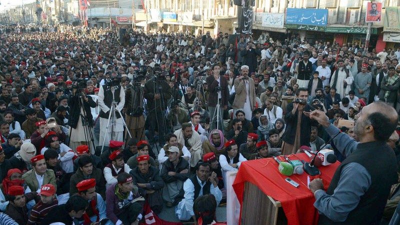 awami national party protest