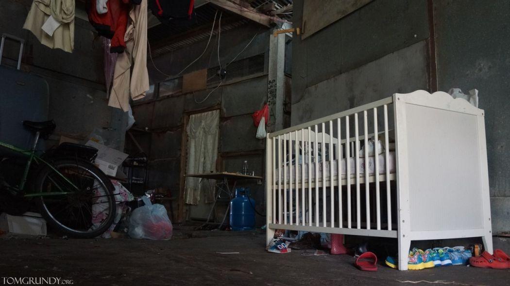 refugee slum conditions