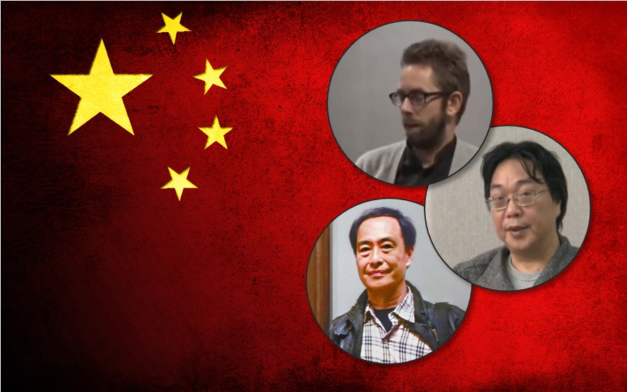 Peter Dahlin, Lee Bo, Gui Minhai in China