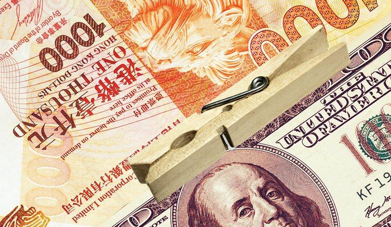 hong kong dollar us peg