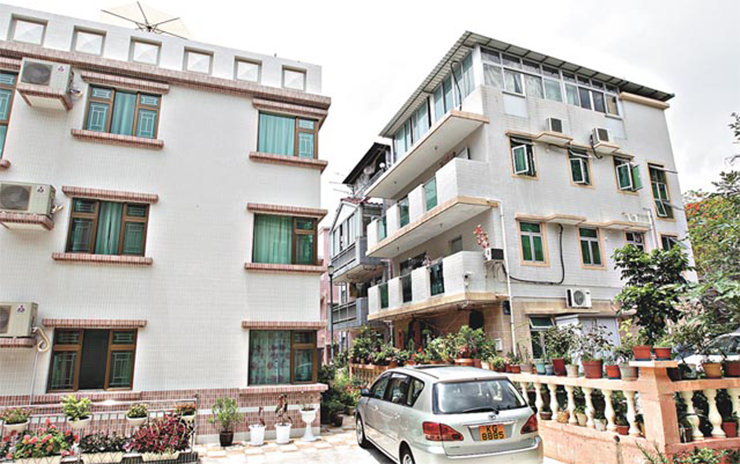 A small house. File Photo: Apple Daily
