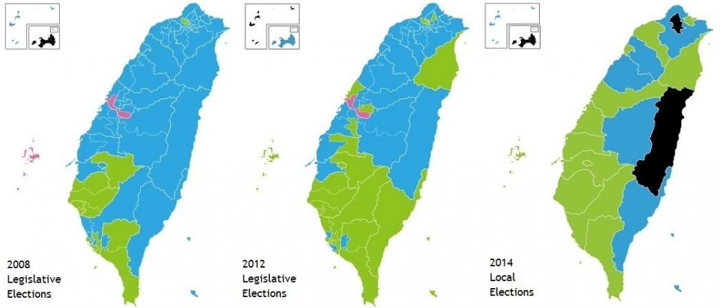 taiwan election results