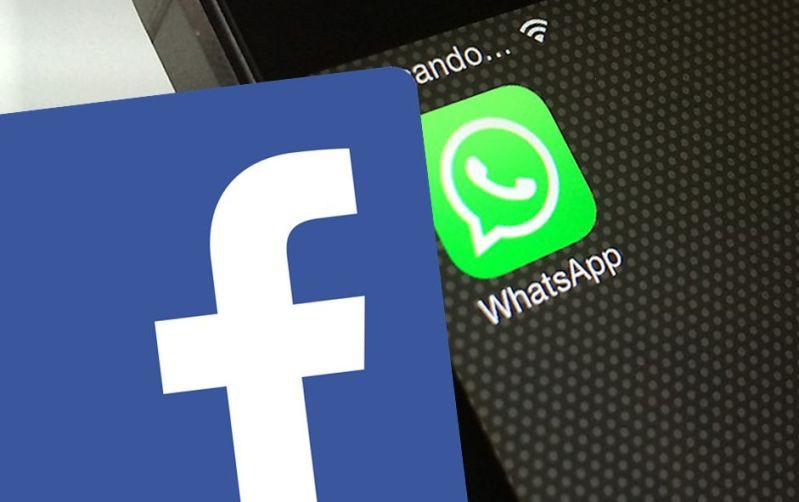 Facebook Whatsapp composite